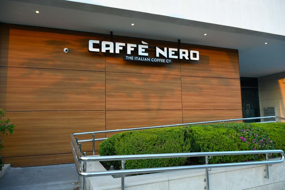 Caffe Nero Signage
