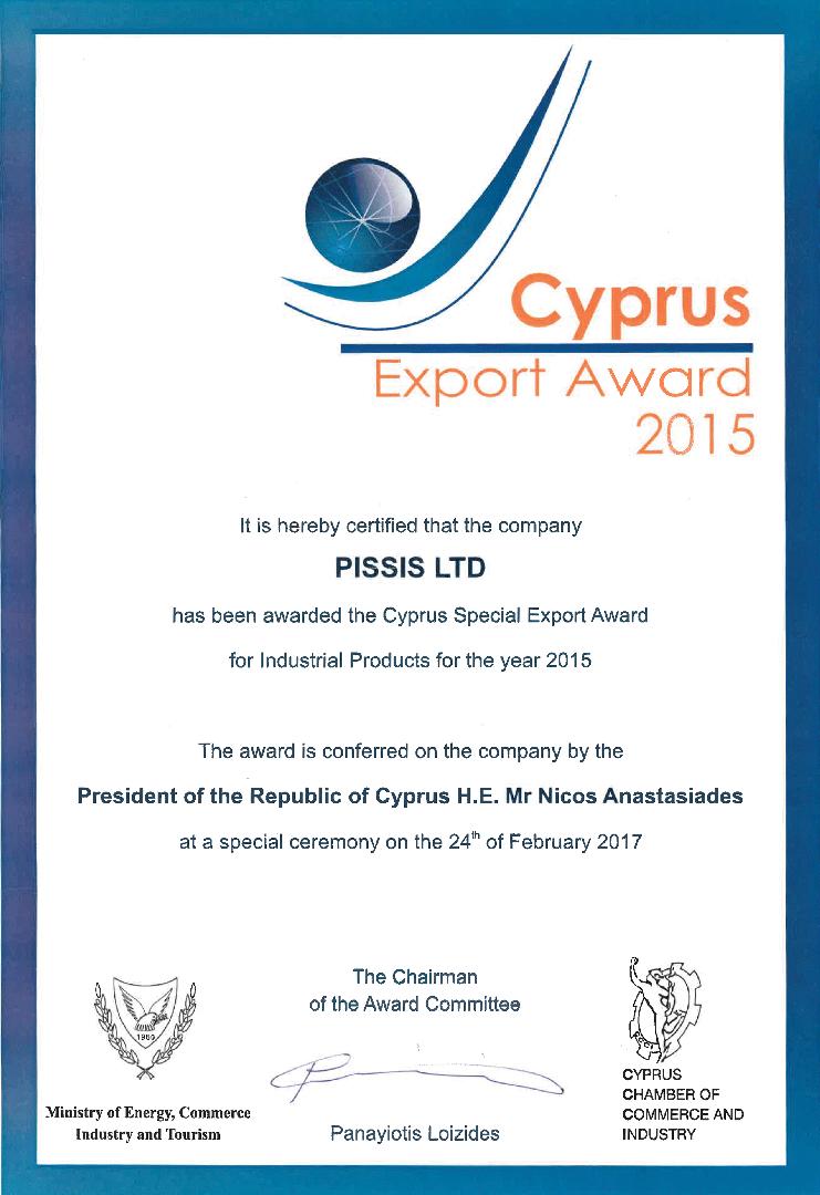 Export Award Pissis
