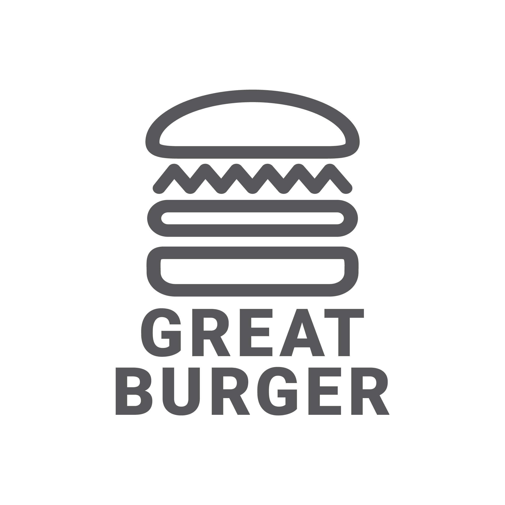 Great Burger logo
